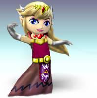Toon Zelda by WolfgerLynel