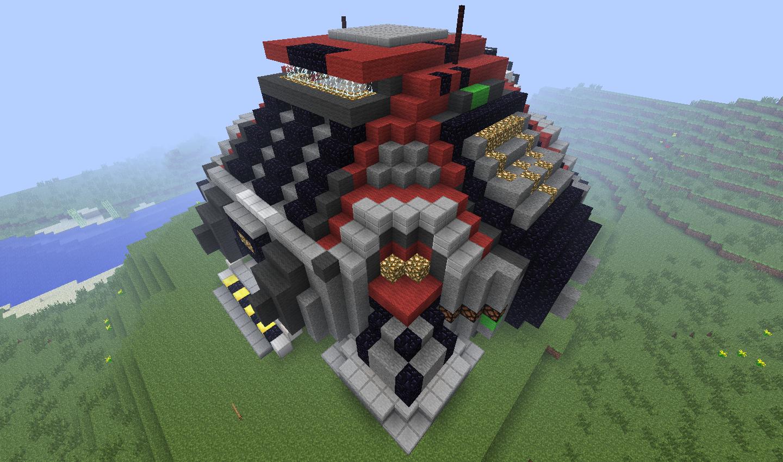 Minecraft Terran Command Center (1) by Wolfgerlion