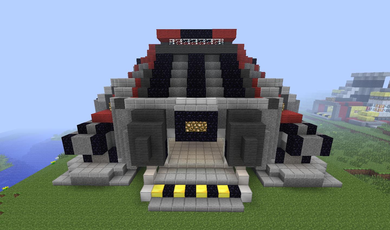 Minecraft Terran Command Center (2) by Wolfgerlion