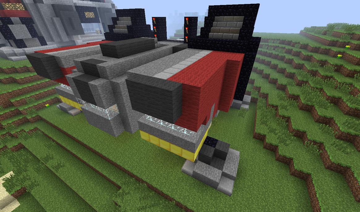 Minecraft Terran Barracks by Wolfgerlion