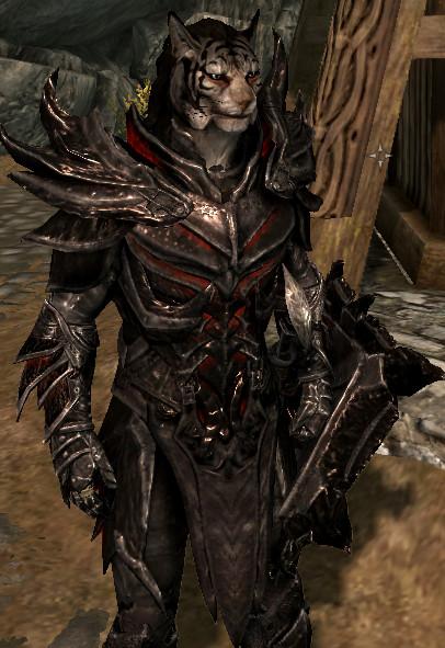 Daedric Armor by Wolfgerlion