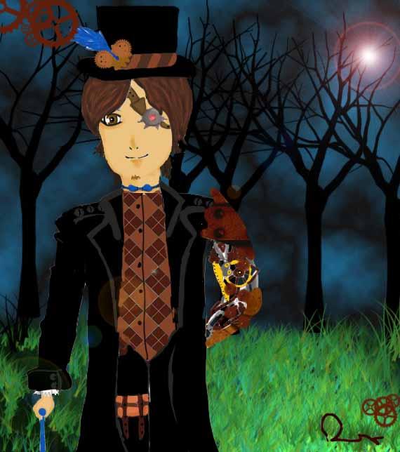 Steampunk Boy by Rosseoko on deviantART