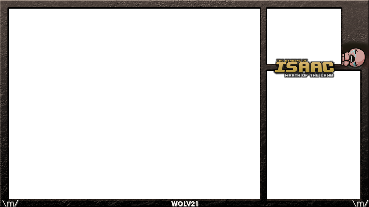 Glasses Frame Donation : Wolv21 Binding of Isaac xSplit Frame by ...