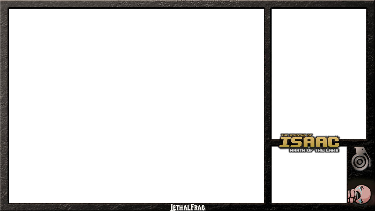 Lethalfrag Binding Of Isaac Xsplit Frame By