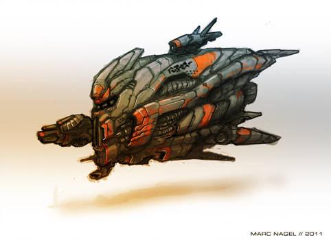 Bulky Ship