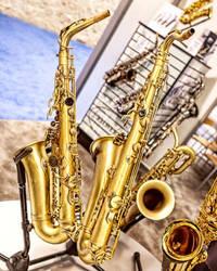 Saxophones by hihosteverino