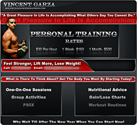 Personal Training Ad by LilFlac3