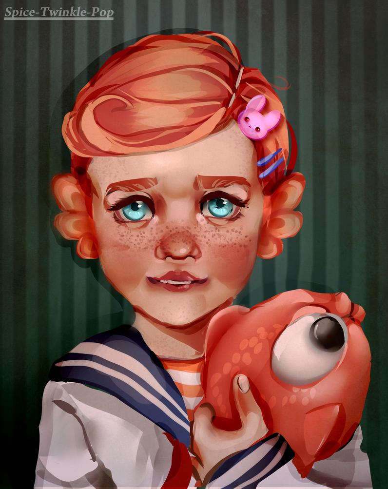 Alex Portrait by Spice-Twinkle-Pop