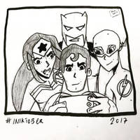Inktober 2017, Day 29, United by maestromakhan