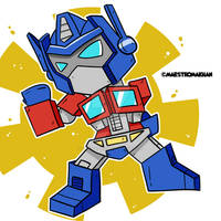 Chibi Optimus Prime