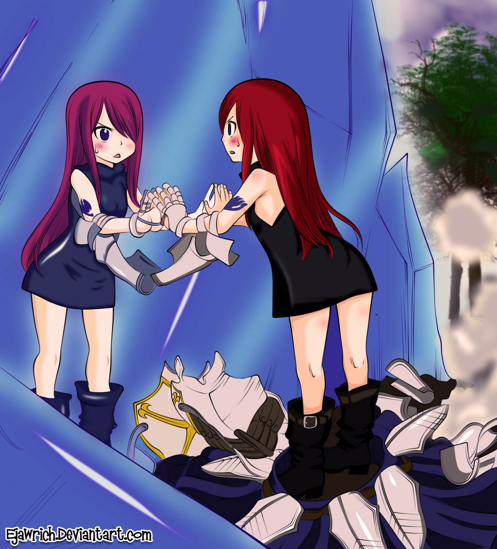 Fairy tail 344 erza kid by ejawrich on deviantart - Fairy tail erza sexy ...