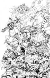 Arthas the deathknight by mannieboy