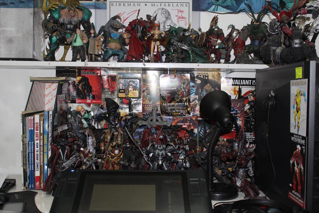 my desk by mannieboy
