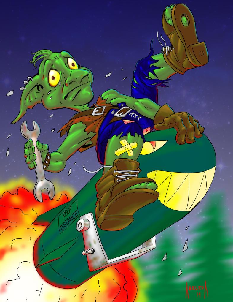 Goblin Vs Gnomes by mannieboy