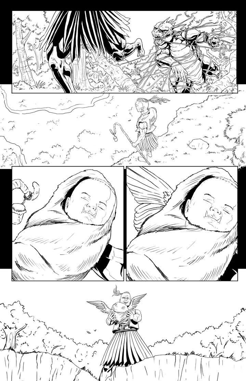 Half breed issue 2 page 18 by mannieboy