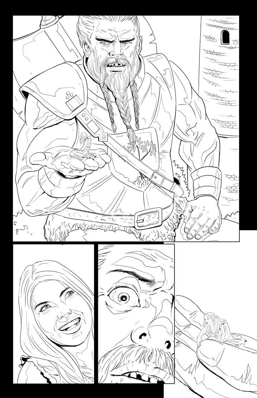 Half breed issue 2 page 10 by mannieboy