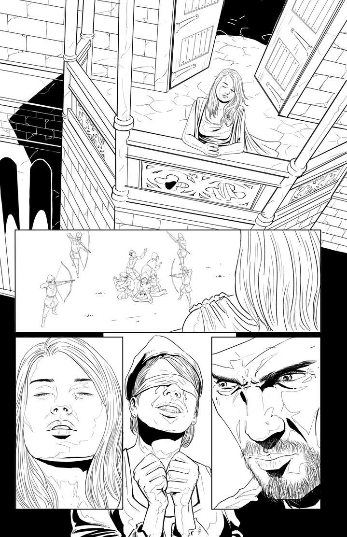 Half Breed isuue 2 page 1 by mannieboy