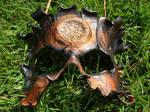 Blazed bark mask
