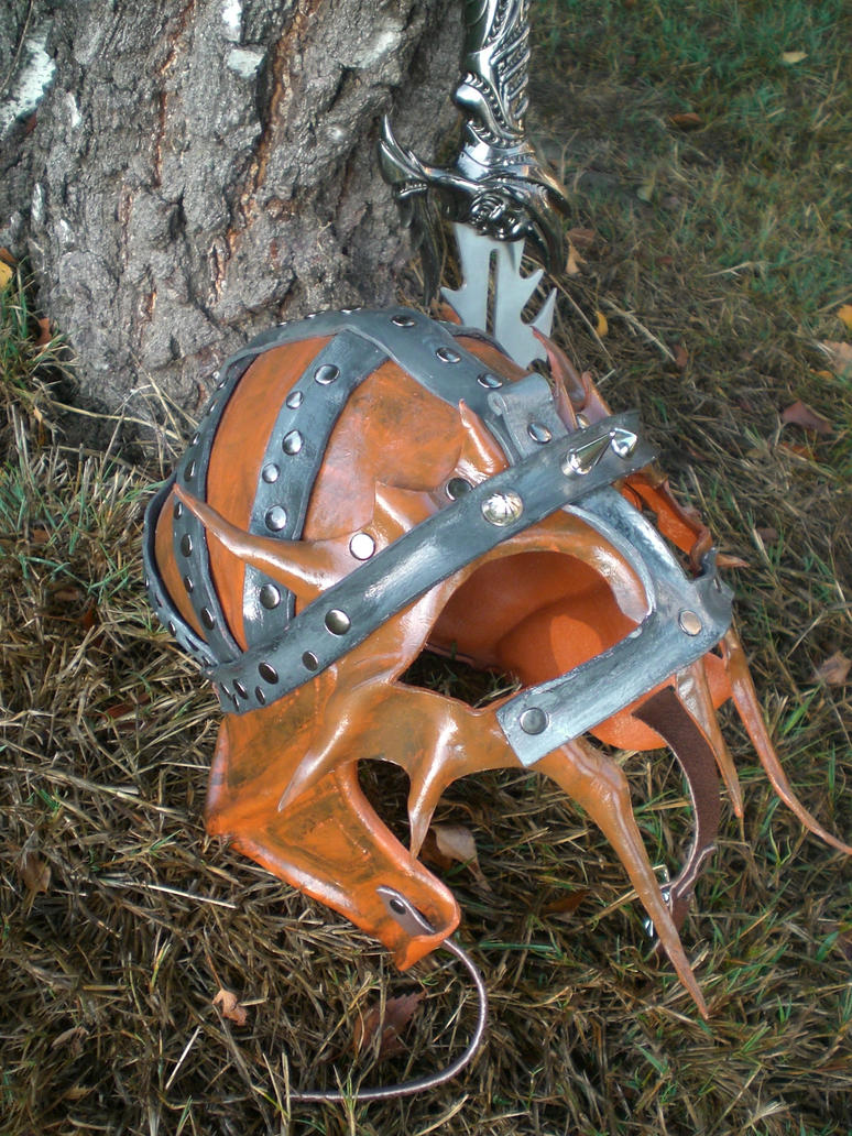 Barbarian Aviation Helmet by Skinz-N-Hydez