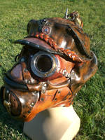 Captains Aviation Gas Mask by Skinz-N-Hydez