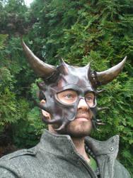 Black Devil Mask by Skinz-N-Hydez