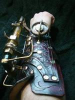 Chaotica Steampunk Arm Gun1 by Skinz-N-Hydez