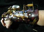 Watchman steampunk cuff2