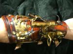 Steampunk Warrior arm cannon1