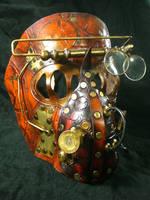 Steampunk Mechanical mask by Skinz-N-Hydez