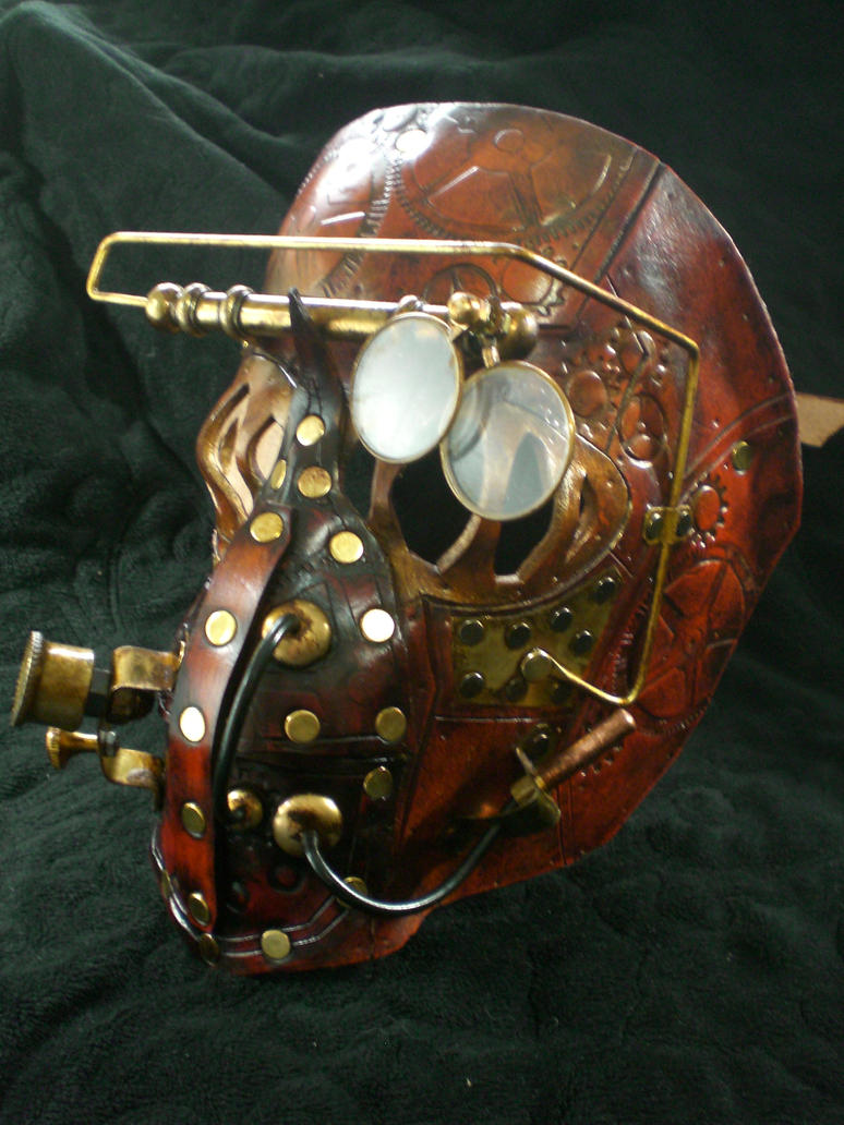 Steampunk Mechanical mask1 by Skinz-N-Hydez