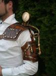 steampunk Gauged shoulder