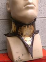 Steampunk Neck Corset. My 1st by Skinz-N-Hydez