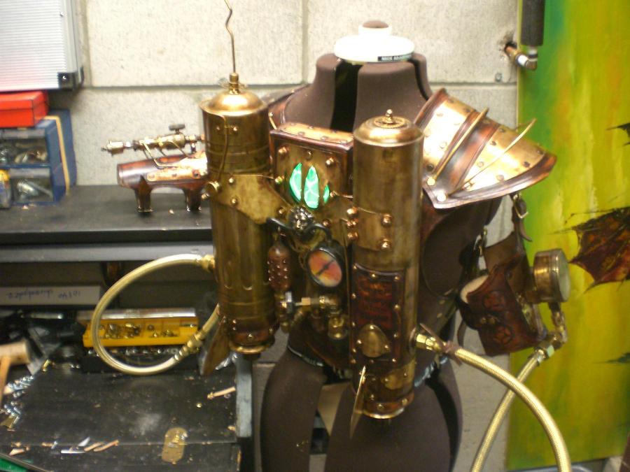 Steampunk Rocketeer Jetpack