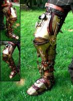 Steampunk Leg II by Skinz-N-Hydez