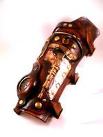 Navigators Steampunk Bracer by Skinz-N-Hydez