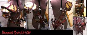 Steam Pirate 3in1 belt