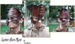 Steampunk Leather Bark Mask