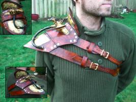 Steampunk Shoulder Armor by Skinz-N-Hydez