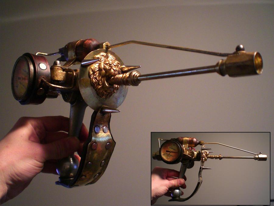 First Steampunk Gun Prop - WIP