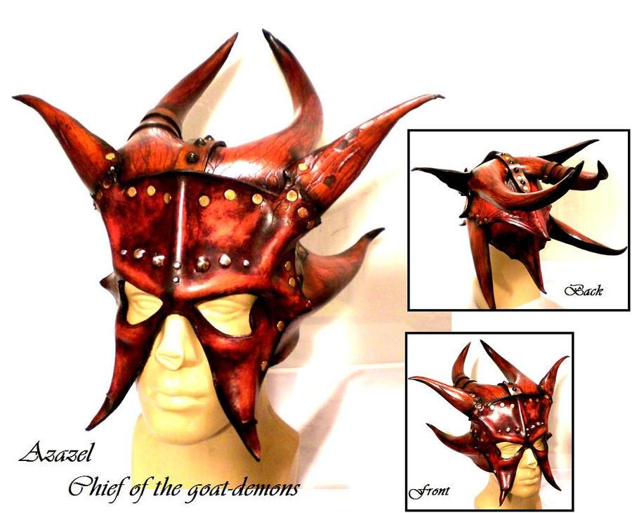 Azazel Demon Mask by Skinz-N-Hydez