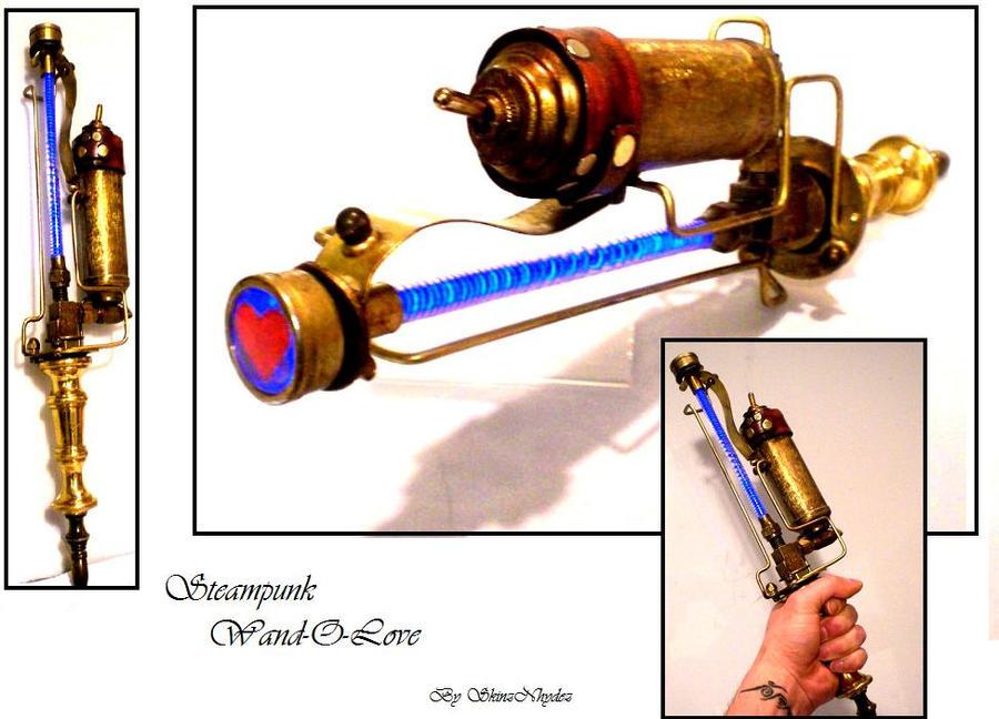 Steampunk Techno Wand