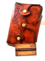 Steampunk Gothic Gear Journal by Skinz-N-Hydez