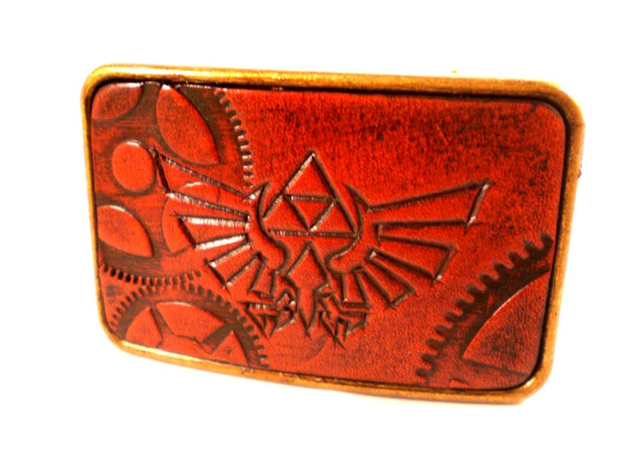 Zelda Triforce belt Buckle by Skinz-N-Hydez