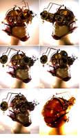 Custom Goggle helmet