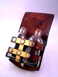 Steampunk 22ml Vial Holster by Skinz-N-Hydez