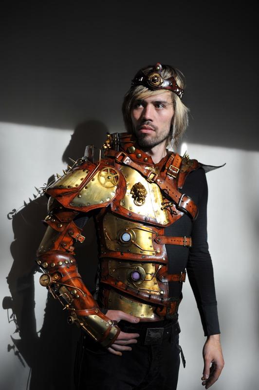 Steampunk Fashion Show Armor