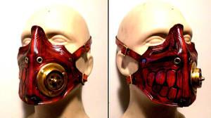 Creepy Steampunk Breather by Skinz-N-Hydez