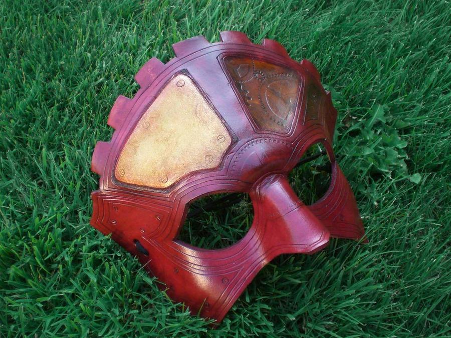 Steampunk Gear Head Mask by Skinz-N-Hydez