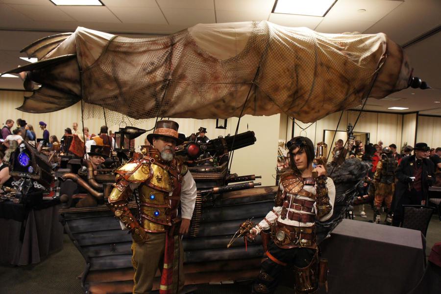 Steampunk Maker's exhibit by Skinz-N-Hydez