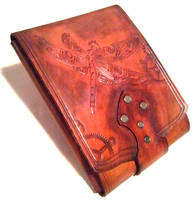 Tribal Dragon Fly Journal Case by Skinz-N-Hydez